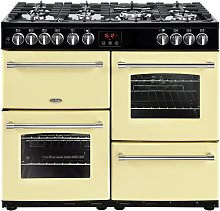 Belling Farmhouse 100DFT Dual Fuel Range Cooker -