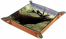 Belling Red Stag Calling Coin Change Key Wallet