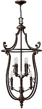 Bellingdon 8-Light Candle-Style Chandelier Red