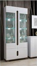 Belmont Display Cabinet with Lighting Mercury Row