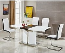 Belmonte Extendable Dining Table Small With 6