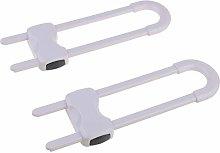 BELTI 2 Pack Child Safety Sliding Cabinet Locks