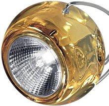 BELUGA COLOUR designer hanging light yellow