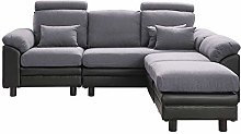 belupai Convertible Sectional Sofa Couch, Modern