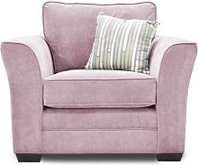 Belvidere Armchair Three Posts Upholstery Colour: