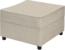 Belvidere Footstool Three Posts Upholstery: Cream