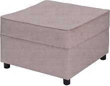 Belvidere Footstool Three Posts Upholstery: Lilac