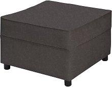 Belvidere Footstool Three Posts Upholstery: Pewter