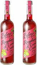 Belvoir Farm Raspberry & Lemon Cordial 500ml Glass