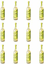 Belvoir Lime Cordial 500ml Glass Bottle (Pack of
