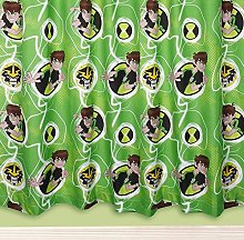 Ben 10 Omniverse Childrens Boys Ready Made Curtain