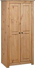Benavides 2 Door Wardrobe by August Grove - Brown