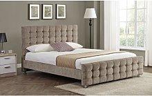 Benedick Upholstered Bed Frame Rosdorf Park Size: