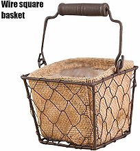 Benedict Vintage Wire Baskets for Storage