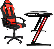 Beneffito - GHOST - GAMER Chair and Inclined LED