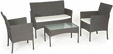 Beneffito - TULUM - Garden furniture resin braided