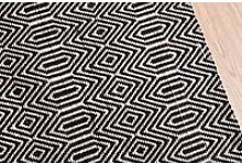 Bengal Small Rug in Black