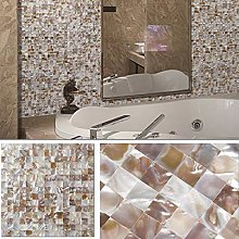 BeNice Stick on Tiles Mother of Pearl