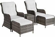 Benissa Rattan Set - Rattan garden furniture set,