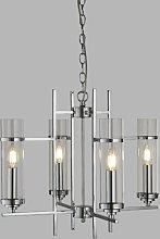 Benita 4-Light Shaded Chandelier Zipcode Design
