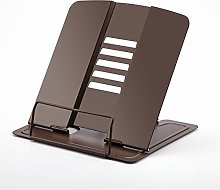 Benkeg Book Stand,Portable Metal Book Stand Book