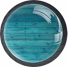 Bennigiry Boards Wooden Crystal Glass Drawer Knob