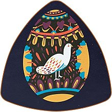 Bennigiry Creative Easter Egg With Pigeon Dove