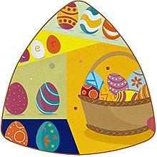 Bennigiry Funky Easter Egg With Basket Set of 6