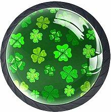Bennigiry Green Clover Leaf Decorative Crystal