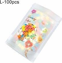 Benoon 100Pcs Standing Pouch Tea Storage Bag Snack