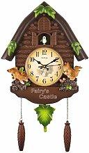 BENREN Cute Bird Cuckoo Wall Clock, Cuckoo Clock,