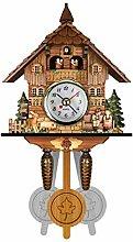 BENREN Vivid Cuckoo Clock, Wall Cuckoo Clock,