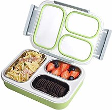 Bento Box 3 Compartments Stainless Steel Lunch Box