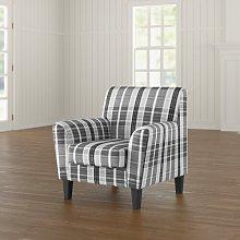 Benton Armchair Marlow Home Co. Upholstery: Grey