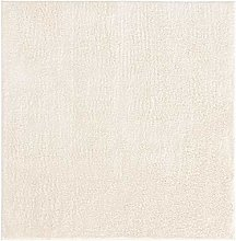 benuta ESSENTIALS Rug, Polyester, White, 160x160 cm
