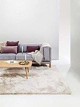 benuta Whisper Shaggy Deep-Pile Carpet Beige 120 x