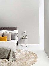 benuta Whisper Shaggy Deep-Pile Carpet Diameter 80