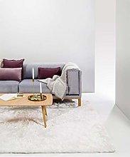 benuta Whisper Shaggy Deep-Pile Carpet White 140 x