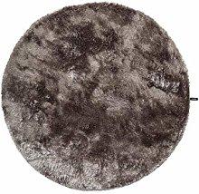 benuta Whisper Shaggy Deep-Pile Rug Diameter 80 cm