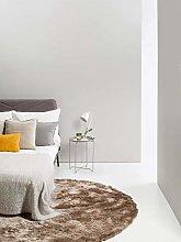 Benuta Whisper Shaggy High-Pile Carpet Light Brown