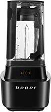 Beper BP.620 Vacuum blender, Stainless steel,Black