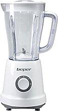 BEPER P102FRU500 Blender 1.5 L, 500 W, 4 Removable