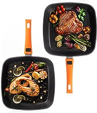 Berela Rockmag II Grill Pan with Removable Handle