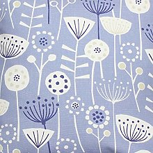 Bergen Floral Scandi Blue Fryetts Cotton Fabric