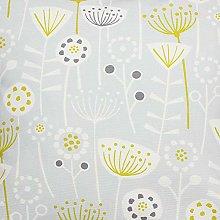 Bergen Floral Scandi Grey Fryetts Cotton Fabric