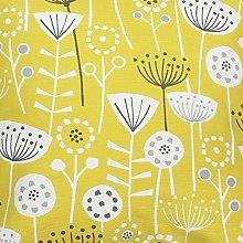 Bergen Floral Scandi Ochre Fryetts Cotton Fabric