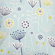 Bergen Floral Scandi Seafoam Fryetts Cotton Fabric