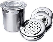 BergHOFF Satin Stainless Steel Dispenser Shaker