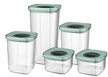 BergHOFF Storage containers, Polypropylene, Green,