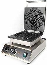 Berkalash 1750W Waffle Maker, Stainless Steel